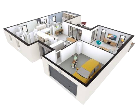 Votre plan de maison 100% personnalisable avec Les Pavillons du Bocage, constructeur de maisons individuelles