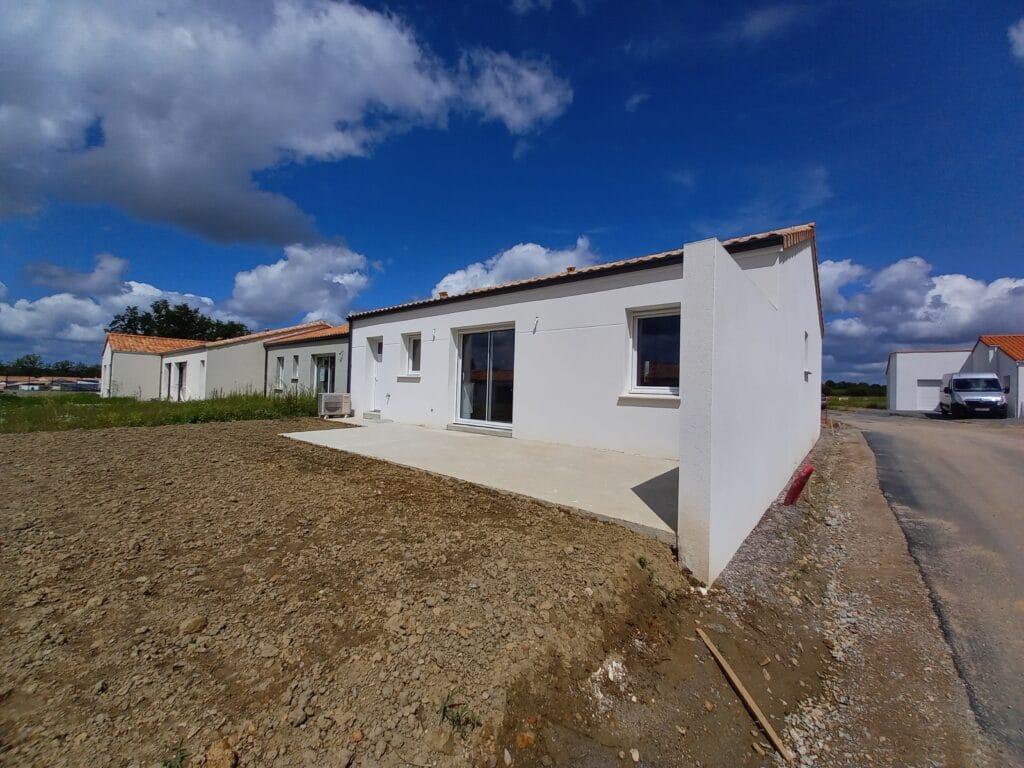 Construction d'une maison traditionnelle à La Roche sur Yon